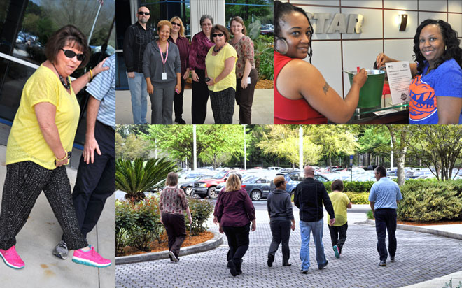Landstar participates in National Walking Day