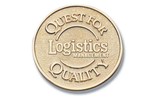 Landstar Earns Quest for Quality Awards from Logistics Management
