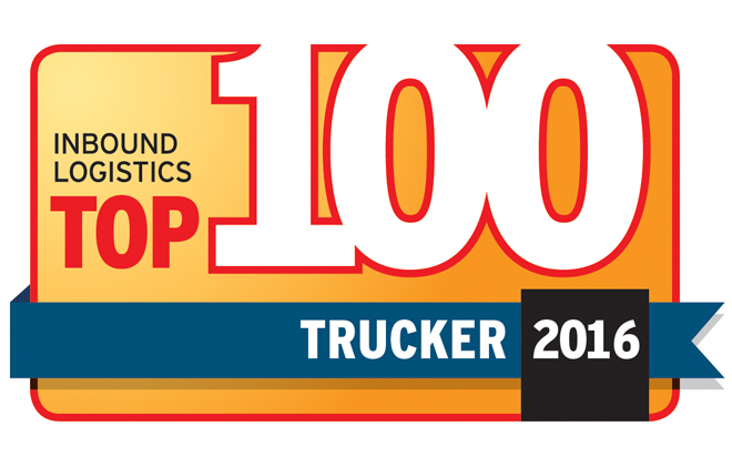 Inbound Logistics Top 100 Trucker 2016