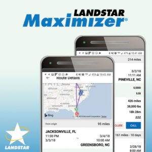 Landstar Maximizer mobile app saves owner-operators time.