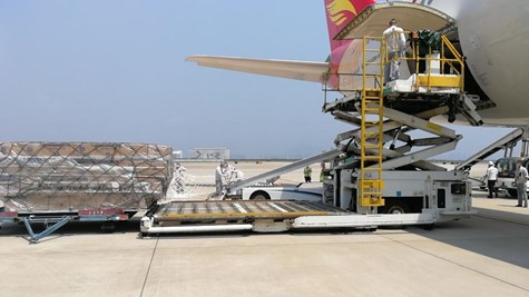 International air freight shipping services